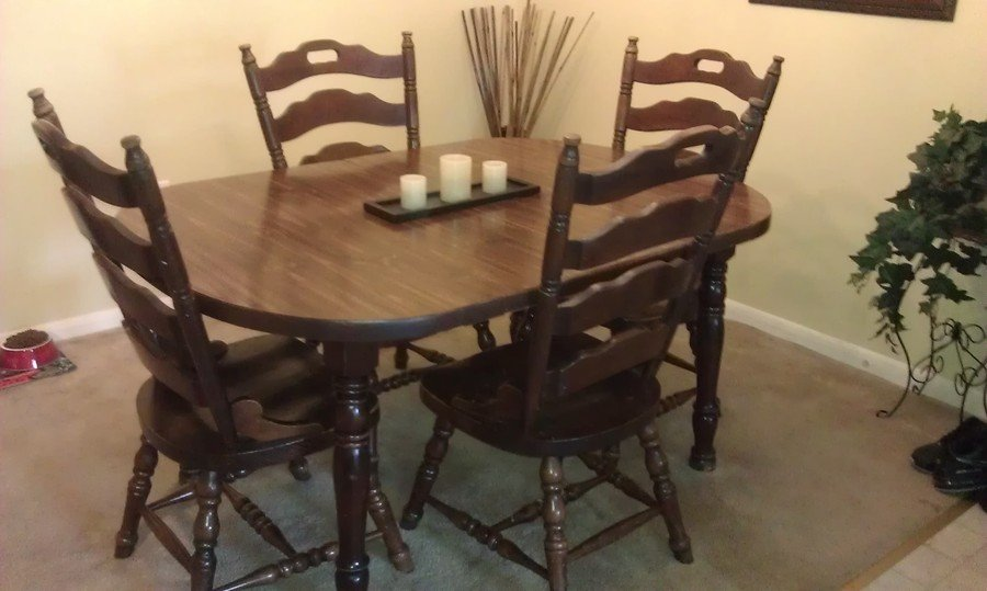 antique ladder back chairs value modway office chair parts please explain to me the wood and how much it is worth for ethan allen table chairs. | my ...