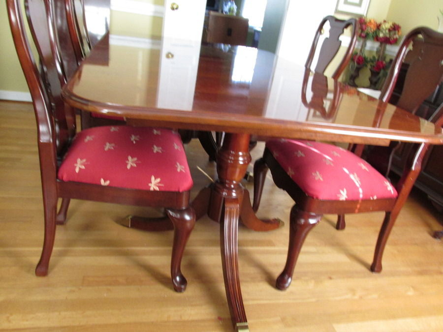 Thomasville Collectors Cherry Dining  My Antique