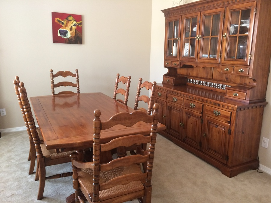 Hello I Have My Grandparents Link Taylor Colonial Pine Dining Room Table A  My Antique