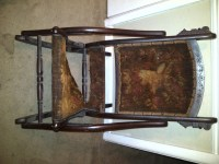 100+ Year Old Folding Rocking Chair | My Antique Furniture ...