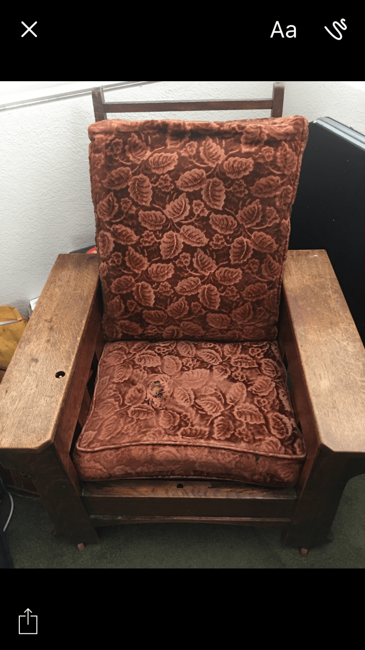 Royal Oak Manual Recliner Chair  My Antique Furniture