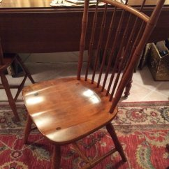 Antique Windsor Chairs For Sale Folding High Chair I Have Ethan Allen Birdcage Back Maple Dining Chairs, Some Say From Circa 1...   My ...
