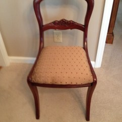 Antique Dining Chairs Value High Patio Tell City Mahogany Duncan Fyffe | My Furniture Collection