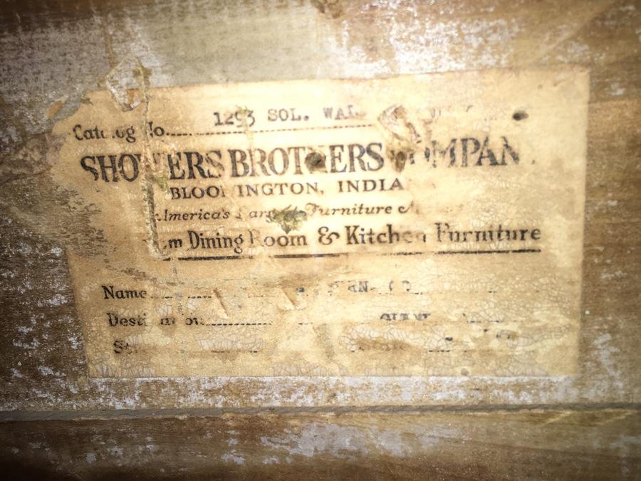 Vintage Shower Brothers Waterfall Vanity Information  My