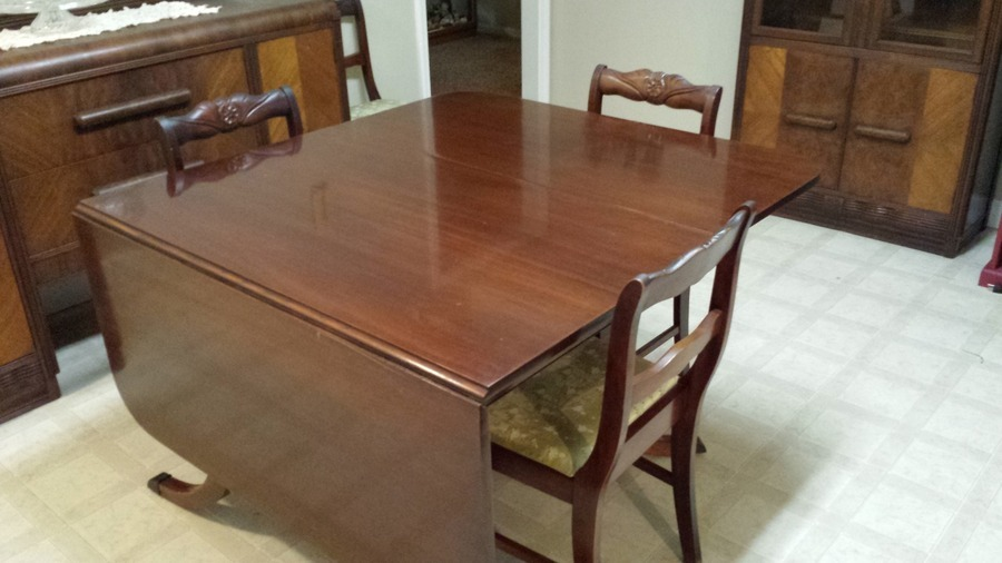 Drexel Drop Leaf Table  My Antique Furniture Collection