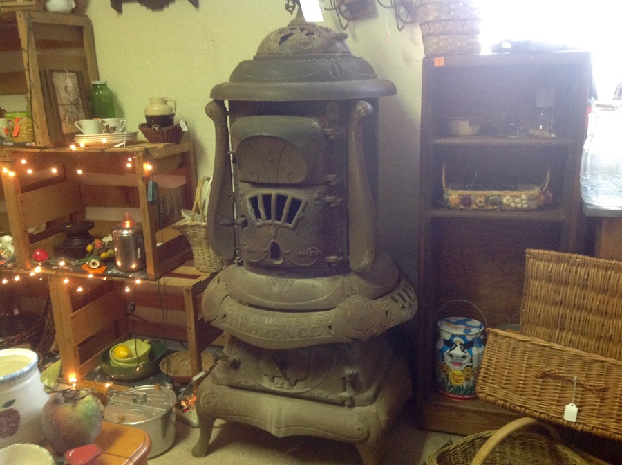 No77 Hot Blast Florence Parlor Cast Iron Stove  My