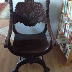 Engraved Rocking Chair Covers For Hire Alberton I Am Thinking This Might Be A Rj Horner Carved Oak Lions Head But H... | My Antique ...