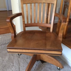 Reclining Arm Chair Flipping Chairs Vine Gunlocke Swivel 1940 Value | My Antique Furniture Collection