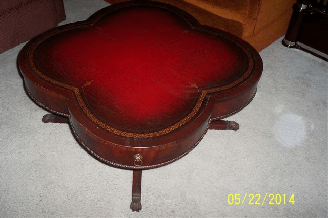 Can Anybody Tell Me What My Clover Leaf Coffee Table With
