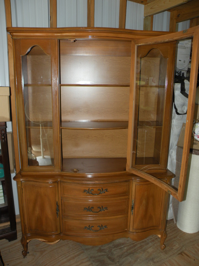 Need To Identify China Cabinet  1960s Broyhill  My