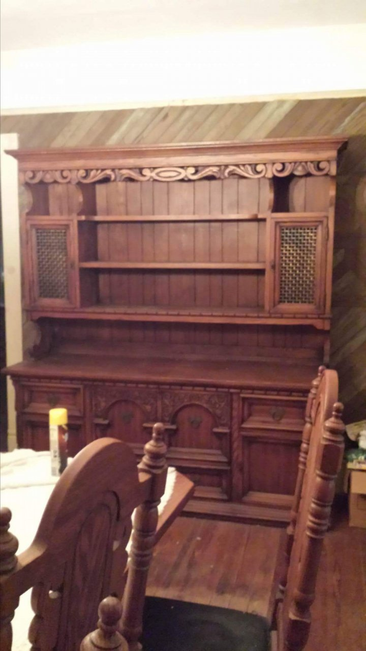 Link Taylor Dining Set And Hutch My Antique Furniture Collection