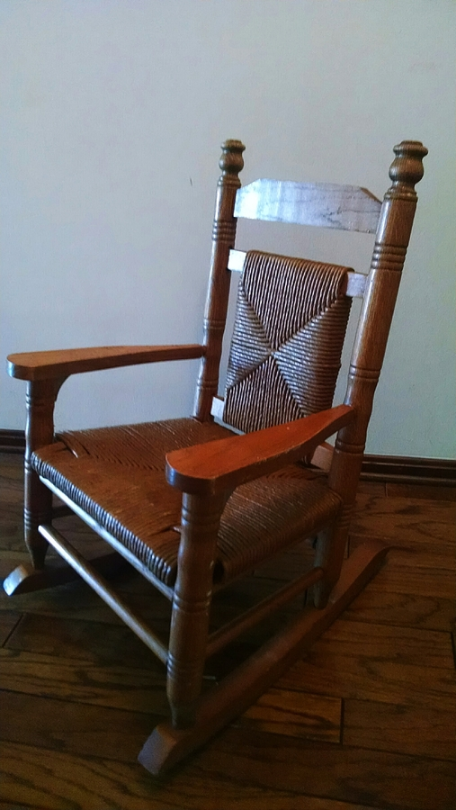 Need Help With Age Of Rocking Chair  My Antique