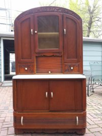 Hoosier Cabinet Like. Value? | My Antique Furniture Collection