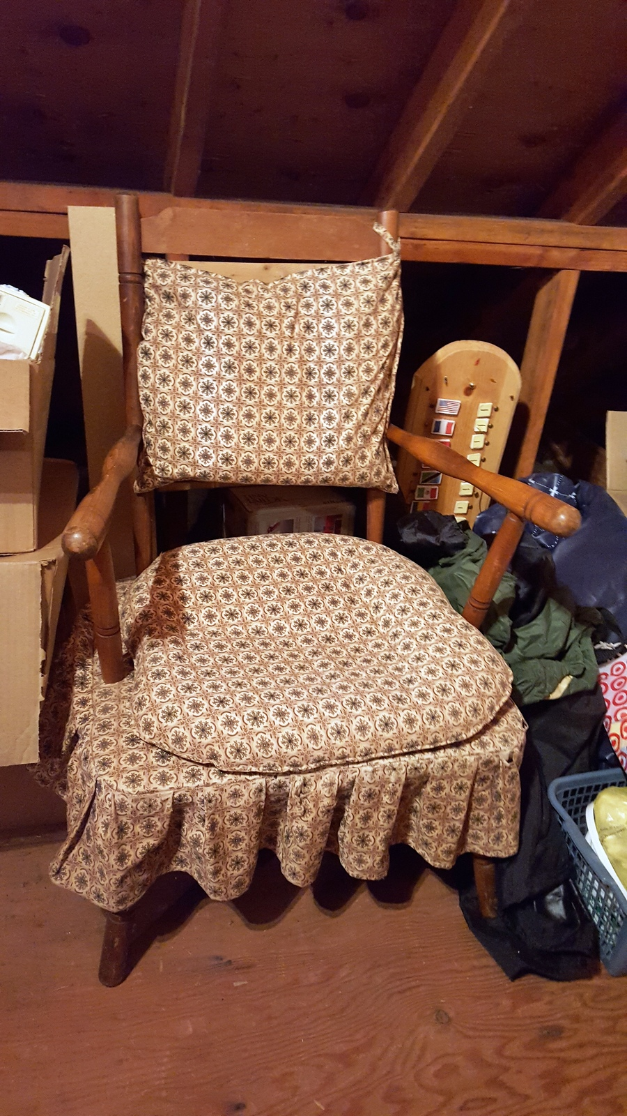 1940s Cricket Chair  My Antique Furniture Collection