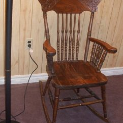 Antique Wooden Rocking Chairs Portable Massage For Sale Chair | My Furniture Collection