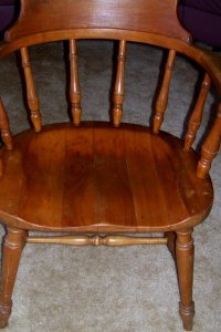 (4) Thonet Captain Chairs   My Antique Furniture Collection