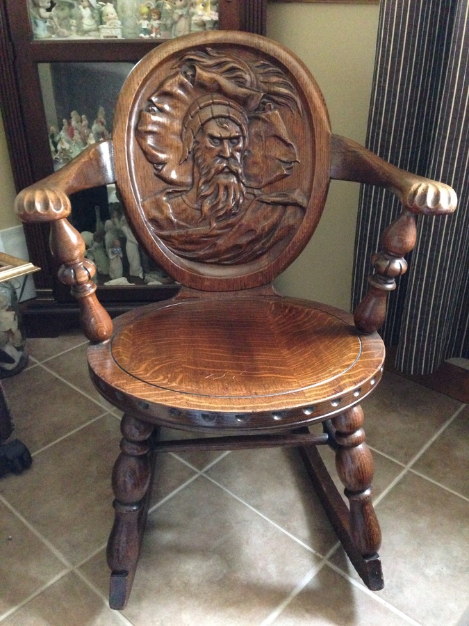 Rockingchair  My Antique Furniture Collection