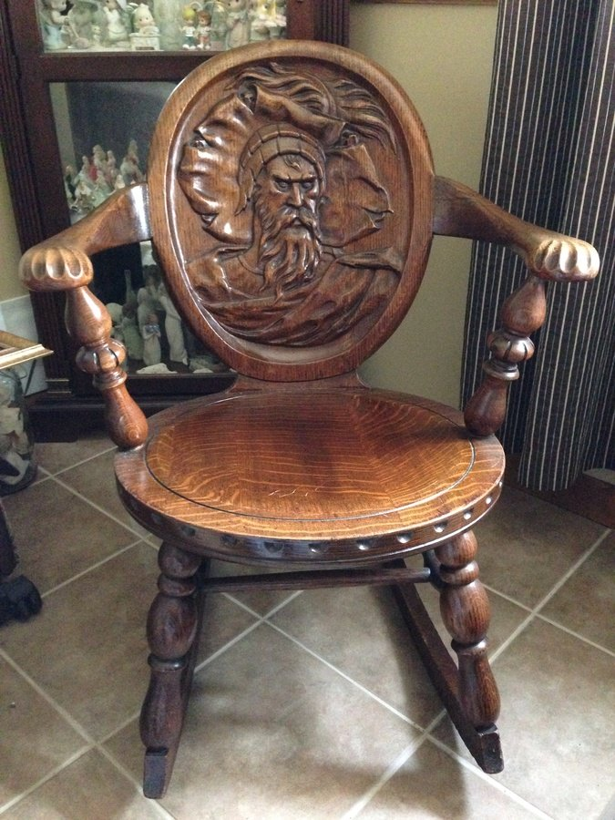 antique folding rocking chair value recliner chairs on sale rocking-chair | my furniture collection