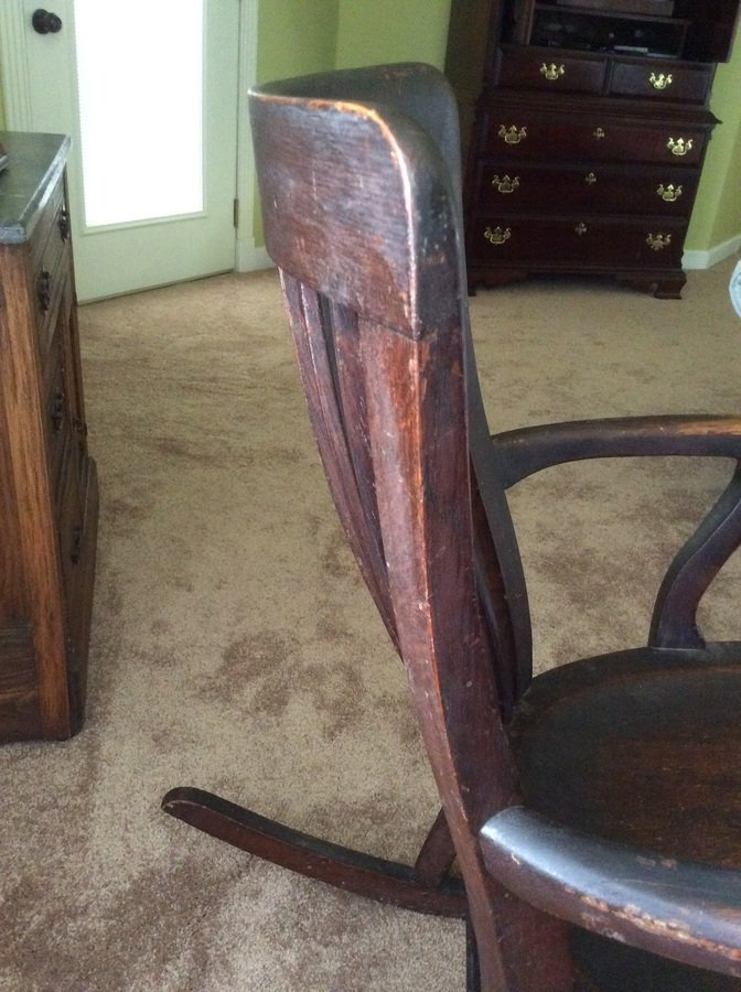 antique rocking chairs value white wooden chair hire j s johnson furniture company | my collection