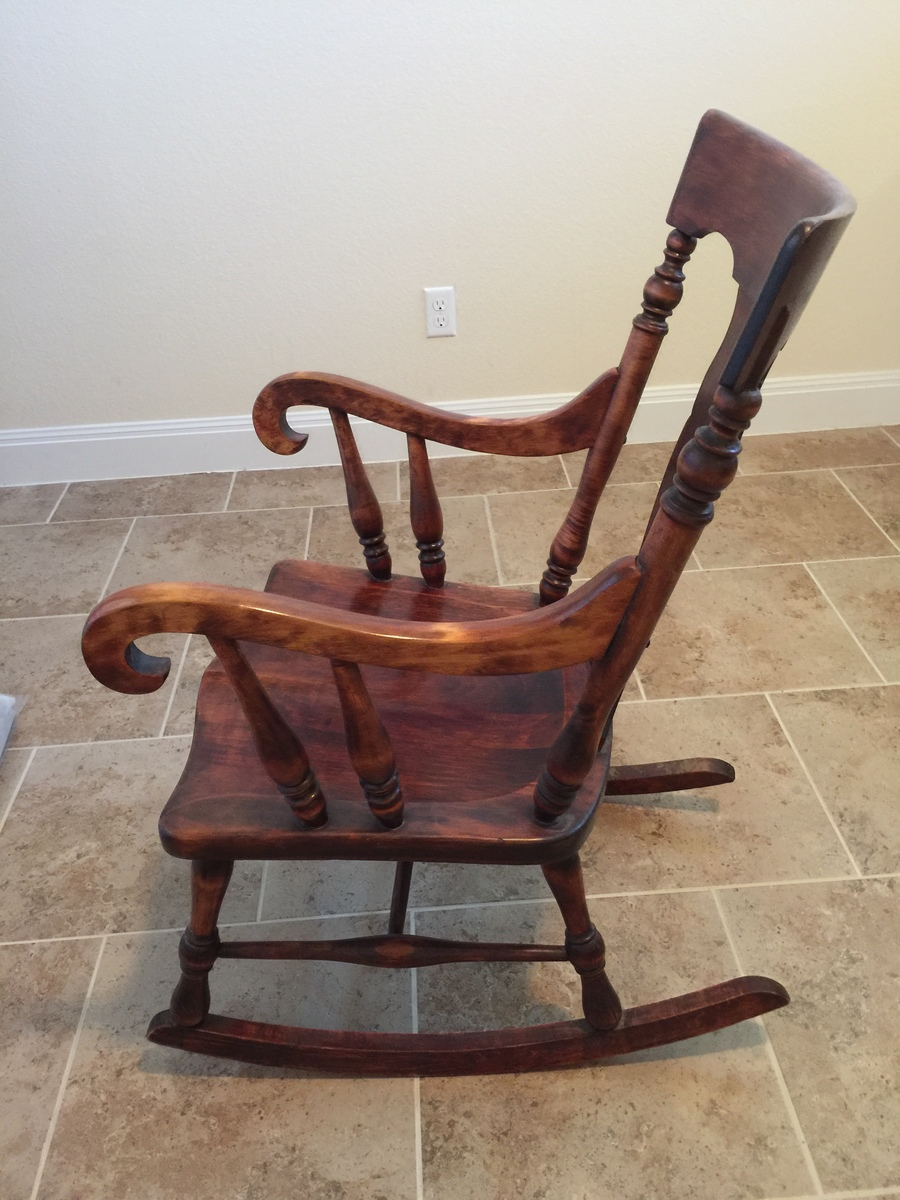 Sikes Chair Company Rocker  My Antique Furniture Collection