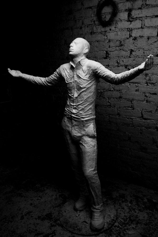 Plaster Life Casting Sculpture