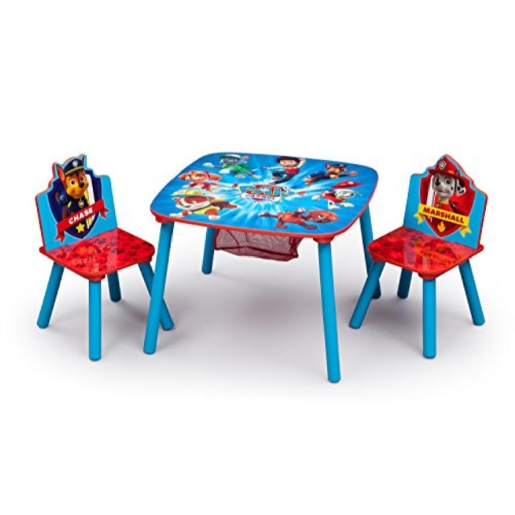 Delta Children Chair Delta Children Tt89501pw Table Chair Set W Storage