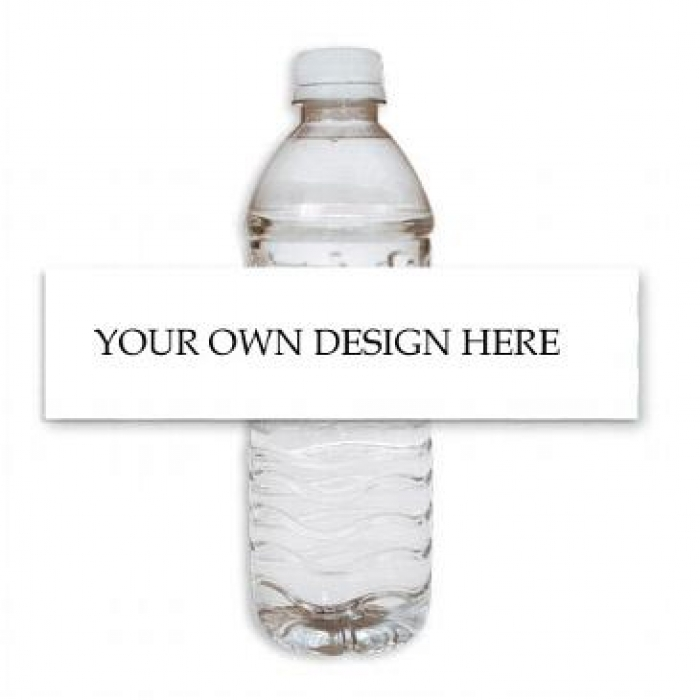 disposable chair covers canada exercise ball custom water bottle labels | print store