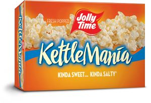 sweet salty gourmet kettle corn flavor