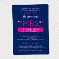 Bridal Shower Invitations, Soon to be MRS Sweet Banner ...