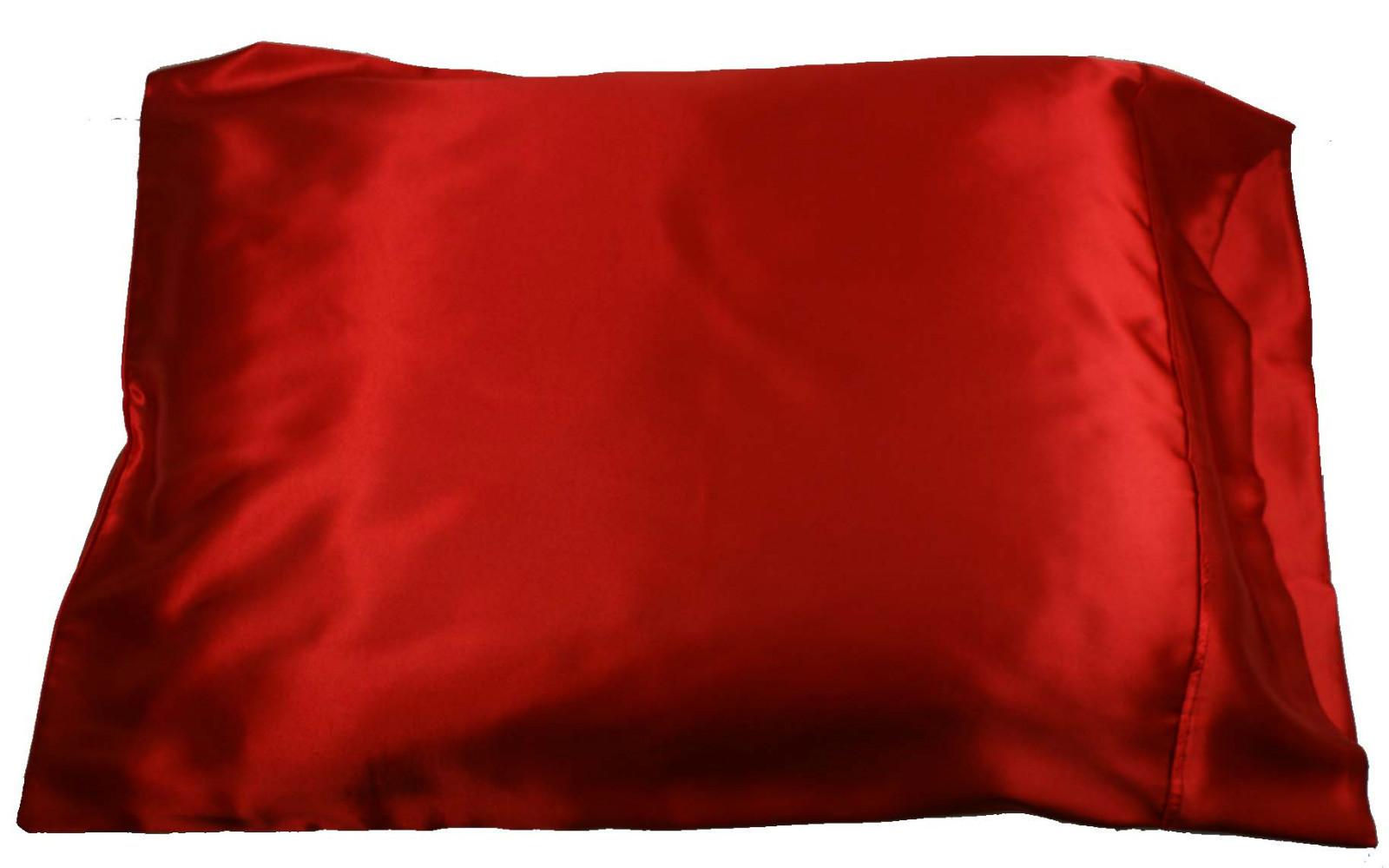1pc New QueenStandard Size Silky Satin Pillow Case