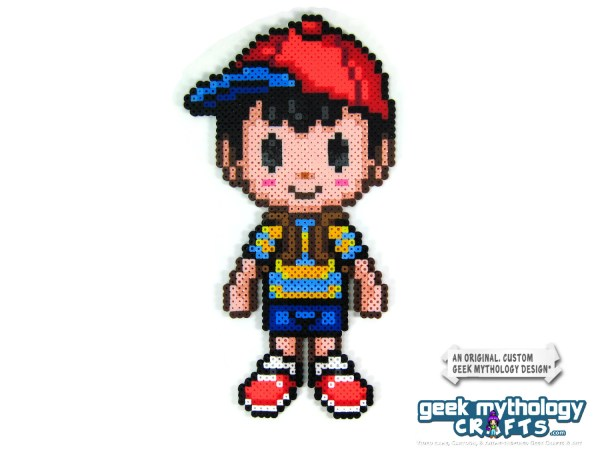 Earthbound Ness Sprite Character - Year of Clean Water