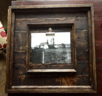 16x16 Rustic Barnwood Picture Frames made from Reclaimed ...