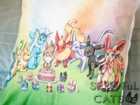 Eeveelution Birthday Pillowcase  Spoonful of Cats ...