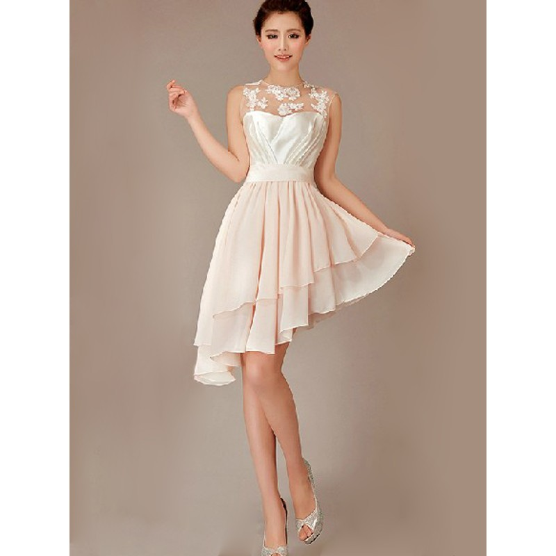 Lace bridesmaid dresses, short bridesmaid dress, hi