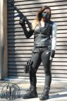 Female Captain America Winter Soldier Cosplay