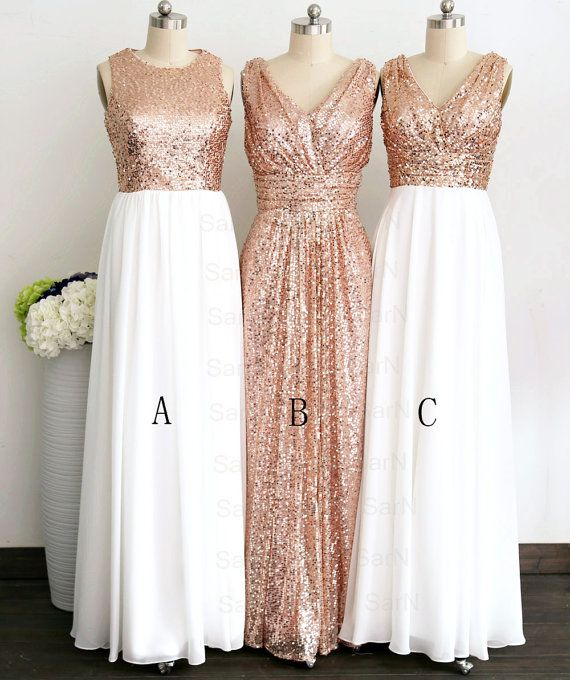 gliiter rose gold sequins