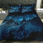 Anlye Dorm Bedding The Gift Ideas Set 1 Side Printing Galaxy Quilt Coverlet Galaxy Bed With 2 Throw Pillow Covers Sold By Anlye Com Storenvy Shop