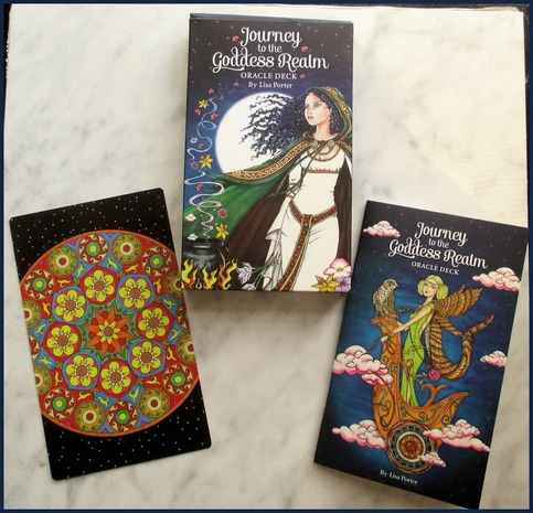 Journey to the Goddess Realm Oracle Fortune Divination