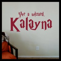 Decal Drama  Yer a Wizard! Harry Potter-inspired ...