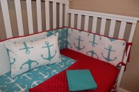 Nautical Anchor 5 Piece Crib Bedding Set  Delta Ann's