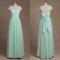 Beautiful Illusion Bridesmaid Dresses, Short Sleeve ...