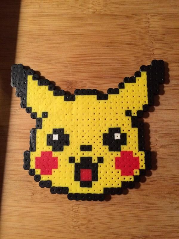Pikachu Perler Bead Art Storenvy
