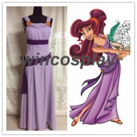New Megara dress from Hercules cosplay costume Megara ...