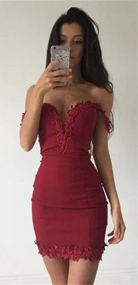 Burgundy bodycon homecoming dresses, homecoming dresses ...
