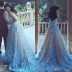 Light Blue Prom Dresses 2018