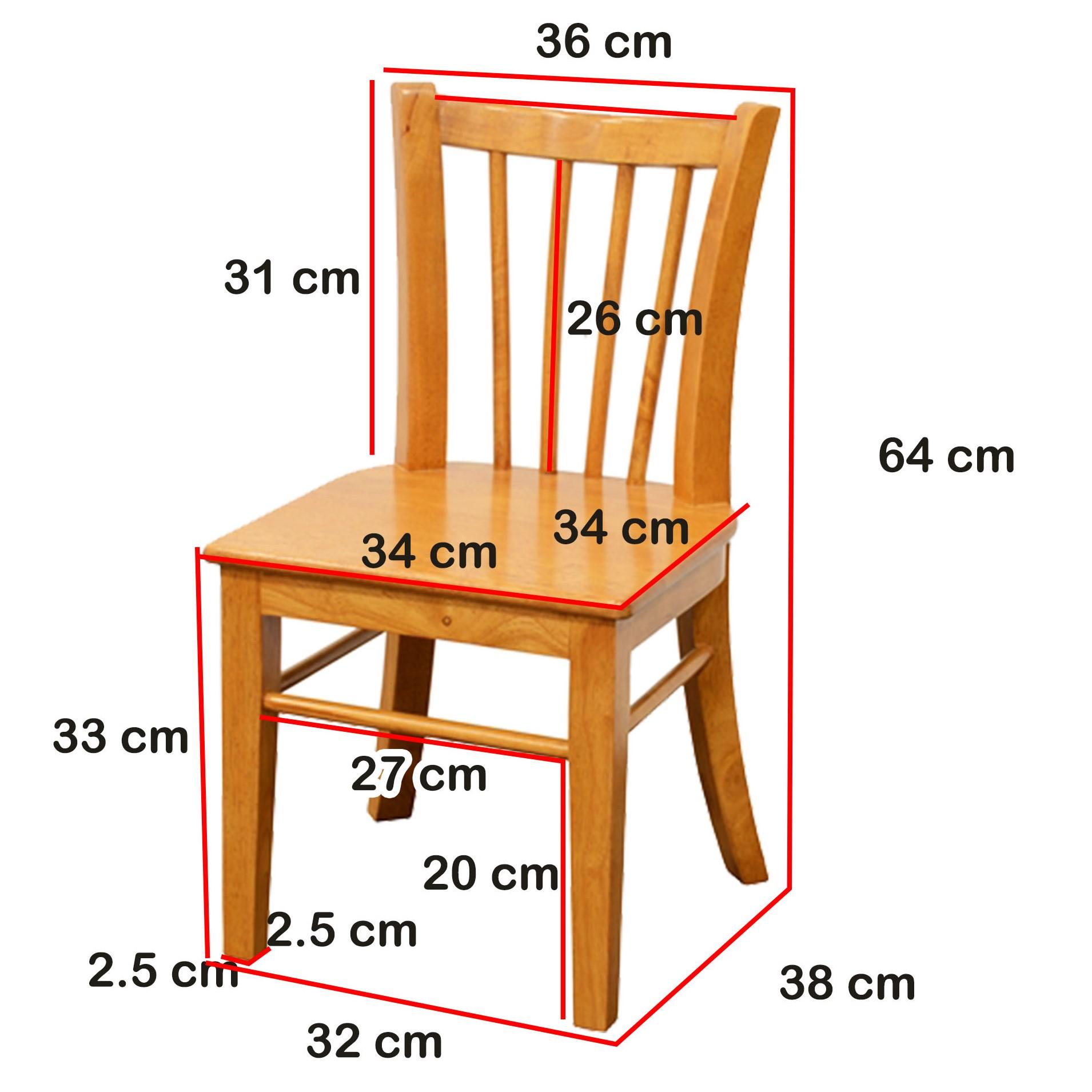 chaise pour enfant hevea 36x38x64cm tradition