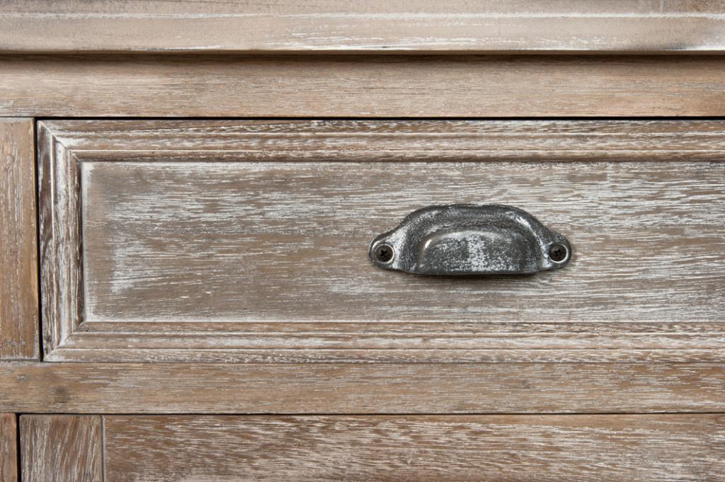 meuble bibliotheque bois naturel patine grise blanchi 6 etageres 4 tiroirs 4 portes l190xp40xh226cm paolia