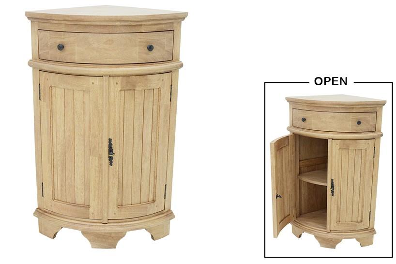 meuble d angle tradition 100 cm 2p 1 tiroir