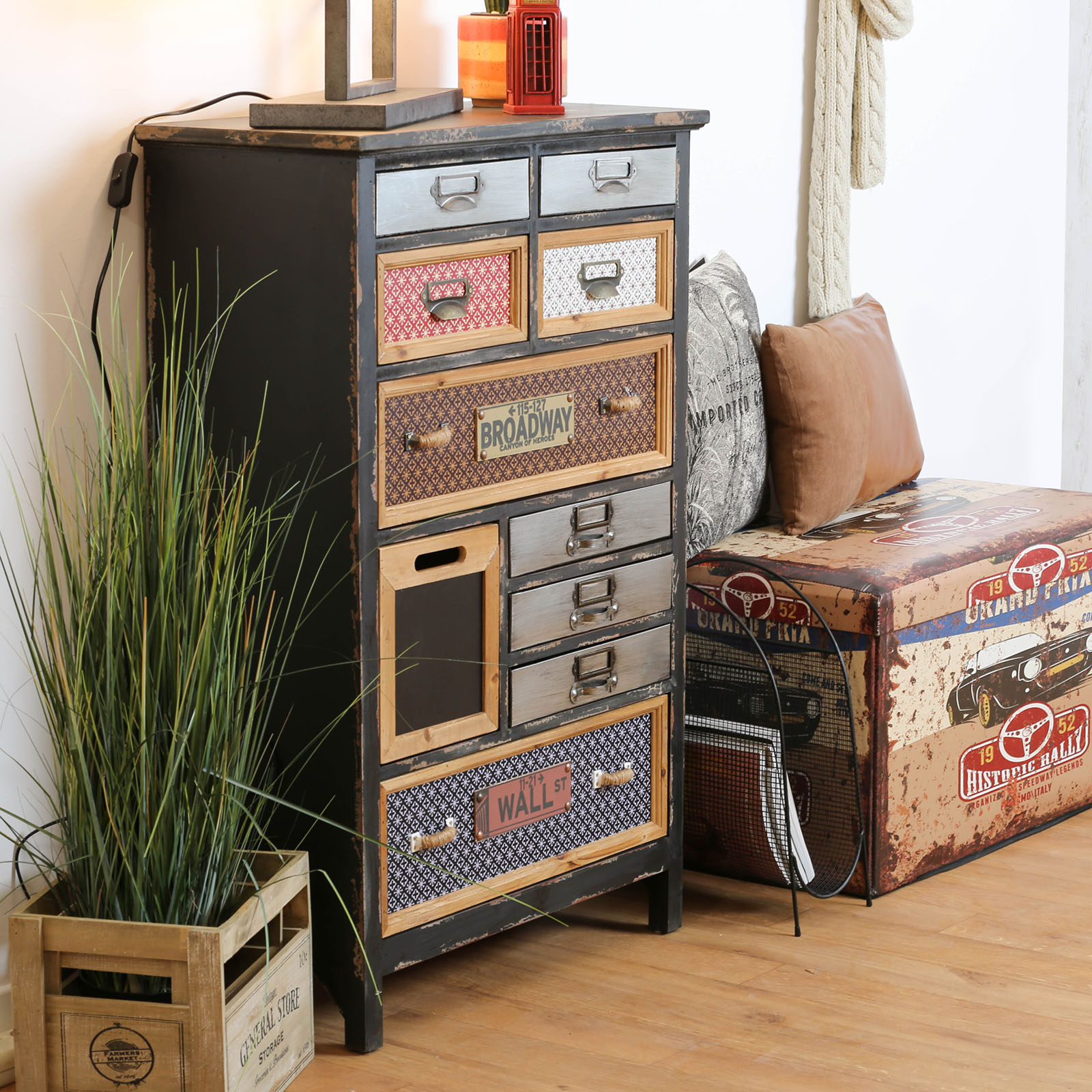 meuble d apothicaire 10 tiroirs lamphun