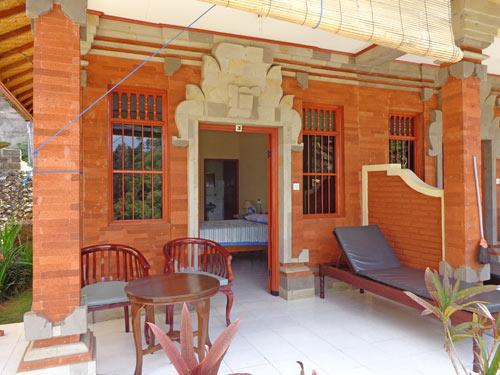 Homestay Bali  Bouwsteen Riksja Indonesi
